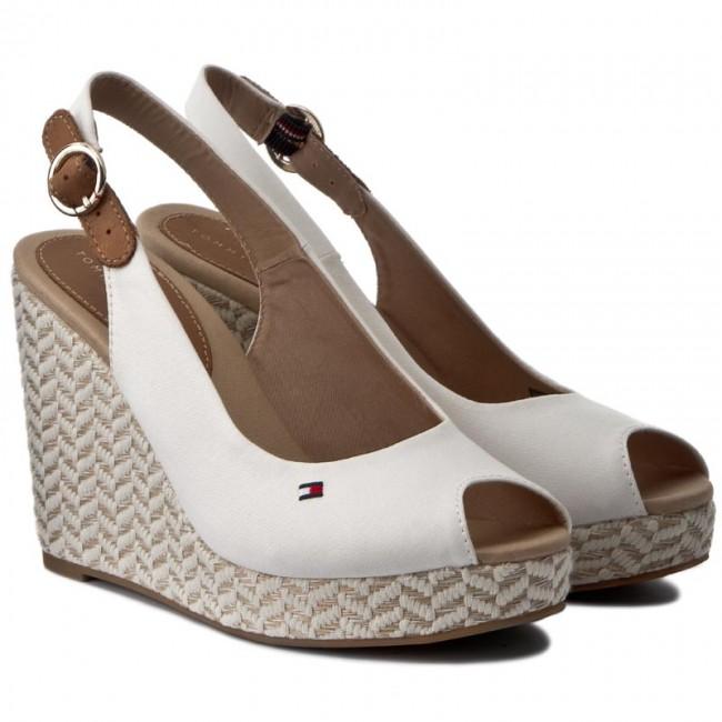 076322fc90009e Espadrilles TOMMY HILFIGER - Elena 57D FW0FW00908 Whisper White 016 -  Espadrilles - Mules and sandals - Women s shoes - www.efootwear.eu