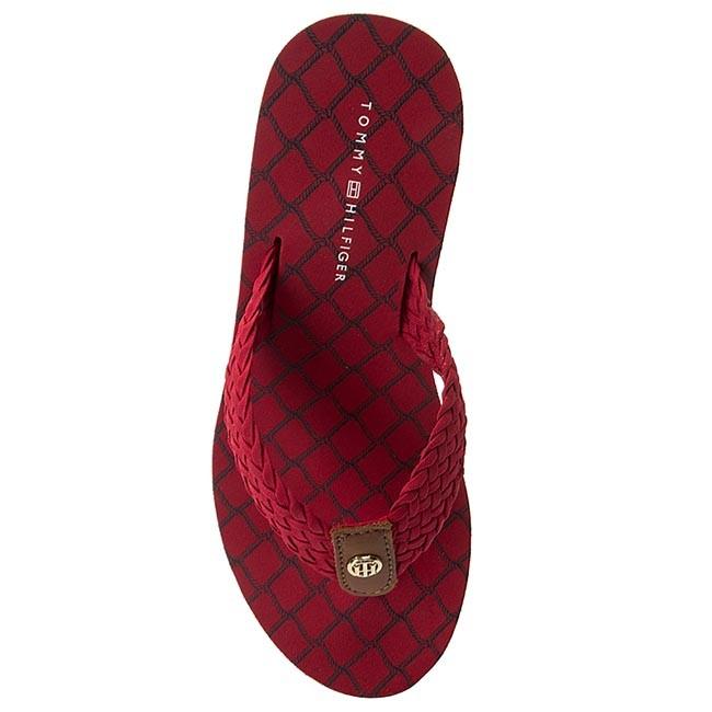 4d6738bb8 Slides TOMMY HILFIGER - Mariah 3D FW0FW00473 Tango Red 611 - Flip-flops -  Mules and sandals - Women s shoes - www.efootwear.eu