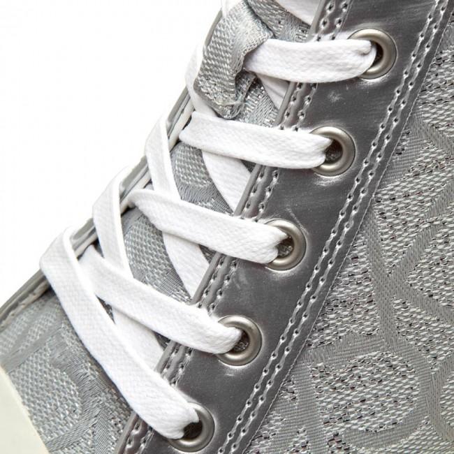 Sneakers CALVIN KLEIN JEANS Ramona RE9686 Light Silver