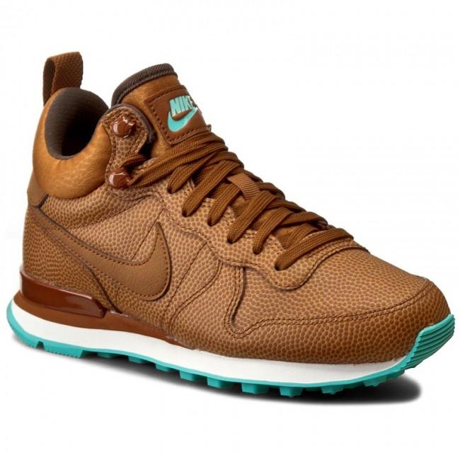 Shoes NIKE - W Internationalist Mid Lthr 859549 200  Hazelnut/Hazelnut/Washed Teal