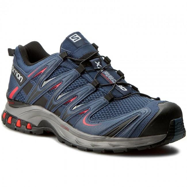 b27fba90da4c Shoes SALOMON - Xa Pro 3D 379208 27 V0 Slateblue Detroit Radiant Red ...