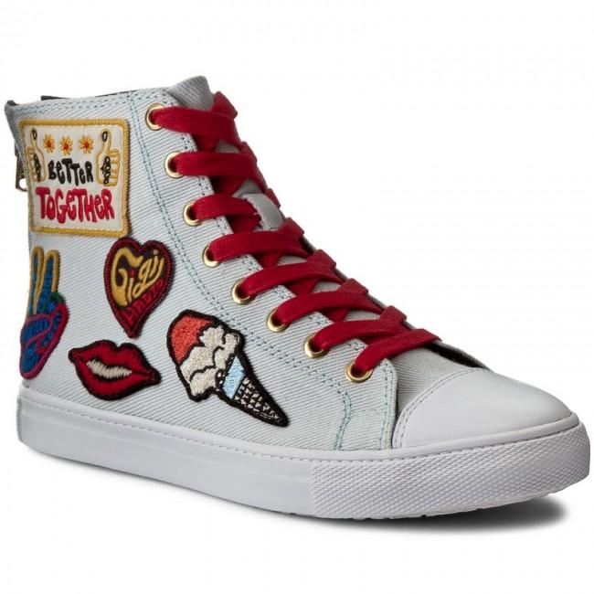7cf02f81 Sneakers TOMMY HILFIGER. High Top Sneaker Gigi Hadid 1C FW0FW01134 White 100