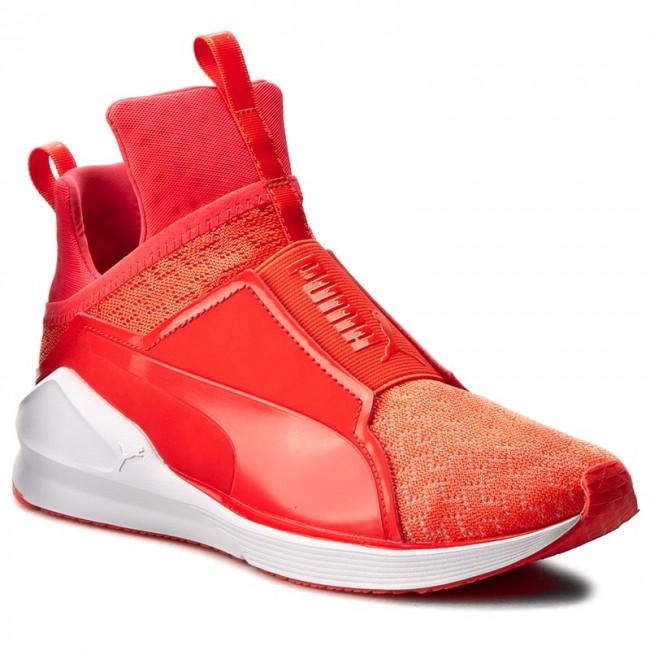 5c5817064c7 Sneakers PUMA - Fierce Eng Mesh 189417 04 Red Blast Puma White ...