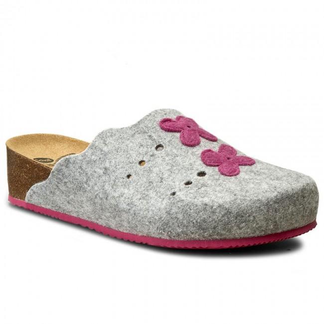 Slippers SCHOLL - Beille F26295 1591 360 Gray/Fuchsia