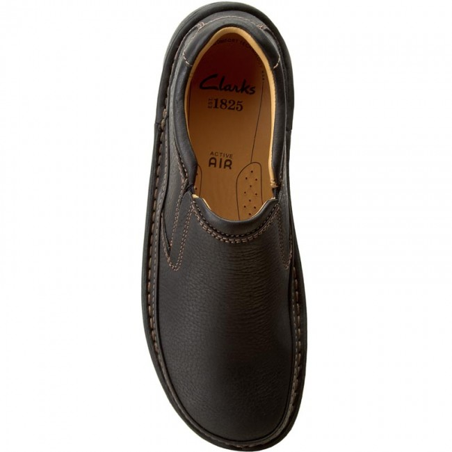 ebc755746fed Shoes CLARKS - Nature Easy 203389987 Black Leather - Casual - Low shoes - Men s  shoes - www.efootwear.eu