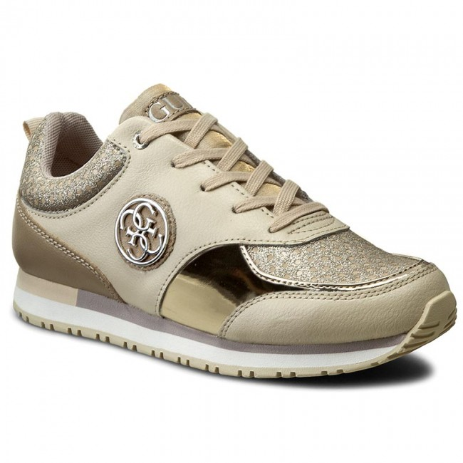 Guess Reeta Trainers Color: Beige