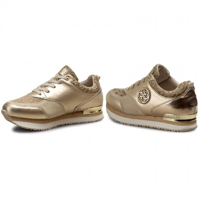 Guess golden leather sneaker RIMMA (35 - Gold) FjLfj47qp