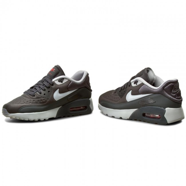 Vacilar Más bien Vaca  Shoes NIKE - Air Max 90 Ultra SE (GS) 844599 005 Anthracite/Wolf Grey/Gym  Red - Sneakers - Low shoes - Women's shoes   efootwear.eu
