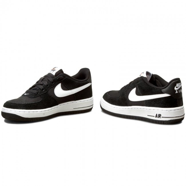 timeless design be5de 27829 Shoes NIKE - Air Force 1 (GS) 596728 026 BlackWhite