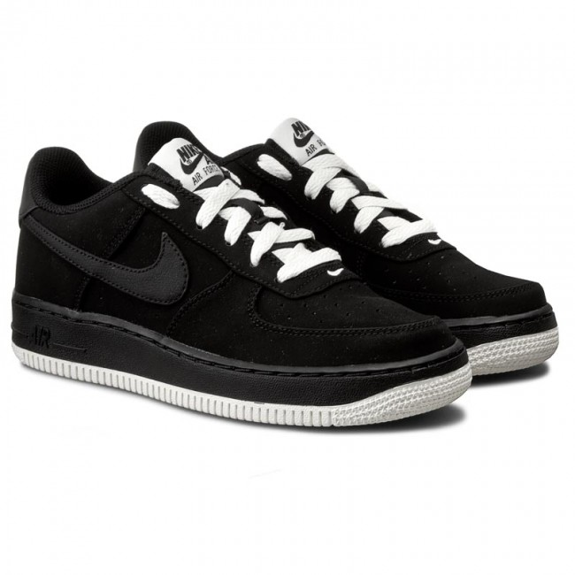 buy online 678ba 0f70a Shoes NIKE - Air Force 1 (GS) 596728 027 BlackBlackSail - Sneakers - Low  shoes - Womens shoes - www.efootwear.eu