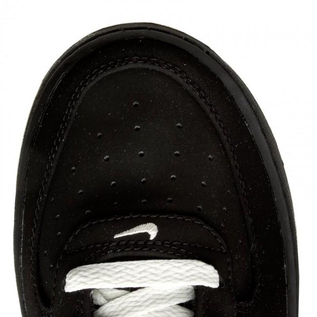 Shoes NIKE Air Force 1 (GS) 596728 027 BlackBlackSail