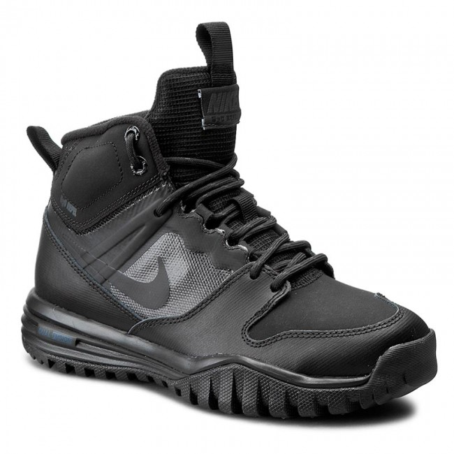 Shoes NIKE - Dual Fusion Hills Mid (GS) 685621 020 Black/Black/