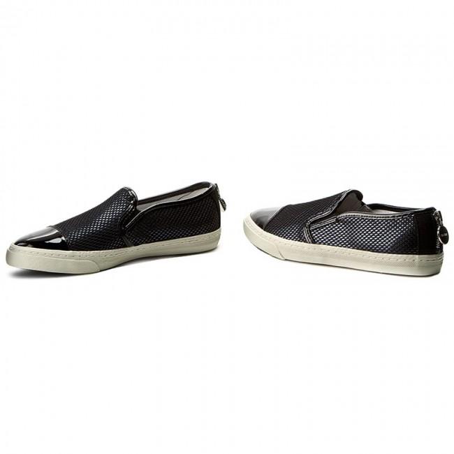 Club Black D Flats shoes 0GNHH Low G D5258G GEOX N Shoes C9999 zOPtw85