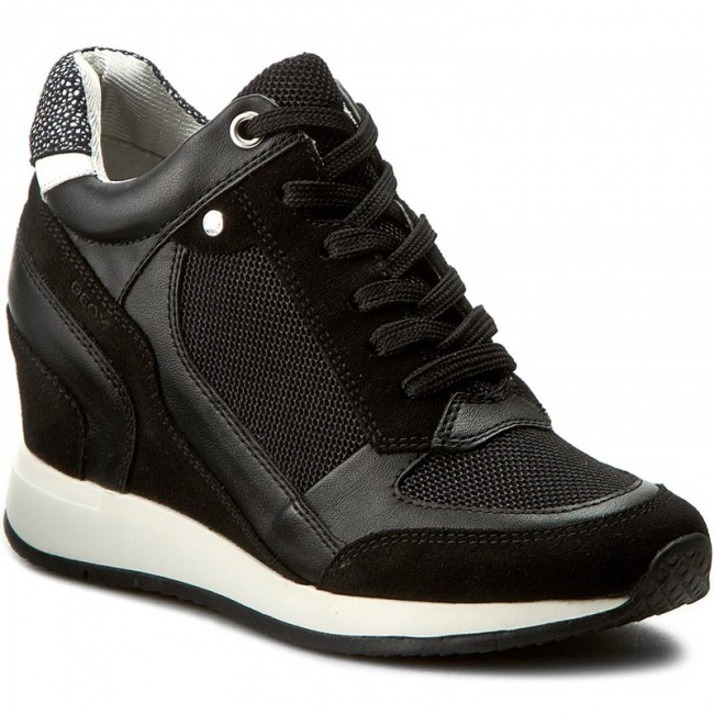 Sneakers GEOX - D Nydame A D540QA 0DS85 C9999 Black qNHae