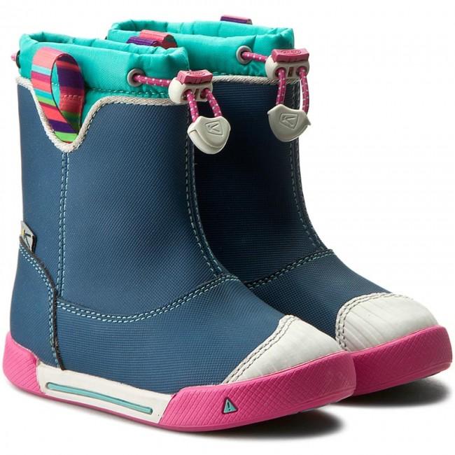 95c2aa326e Wellingtons KEEN - Encanto 365 Boot Wp 1014405 Poseidon/Lagoon - Wellingtons  - High boots and others - Girl - Kids' shoes - www.efootwear.eu