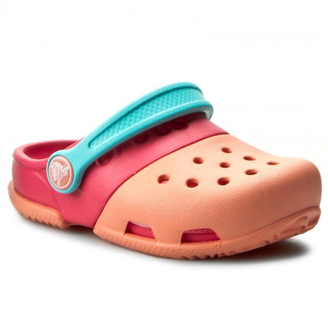 547bba92f2df Slides CROCS - Electro II Clog 15608 Melon Poppy - Clogs and mules ...