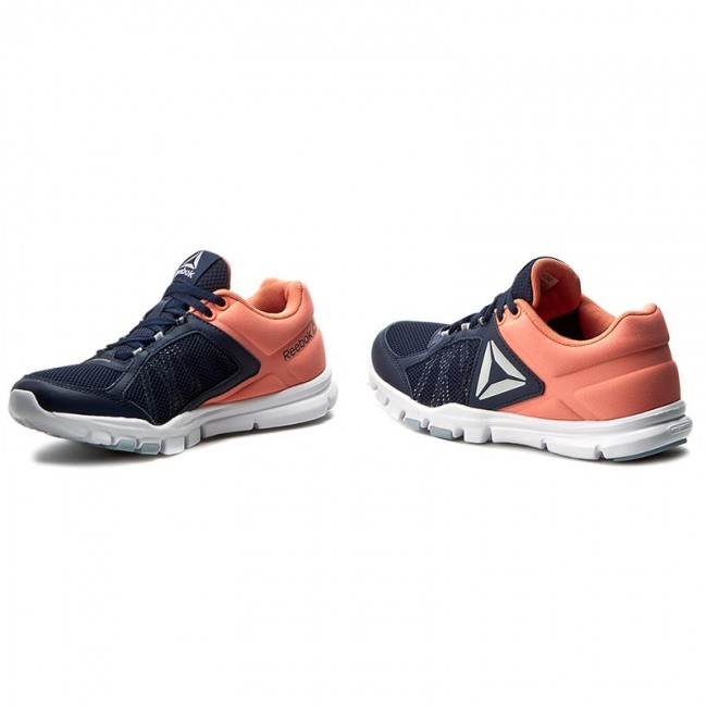 reebok yourflex trainette. shoes reebok - yourflex trainette 9.0 mt bd4832 navy/pink/white/grey 0