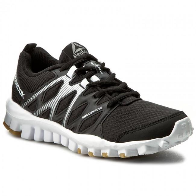 Shoes Reebok  Realflex Train 40 BD5044 BlackWhiteGum  Fitness  Sports shoes  Womens shoes       0000199173868