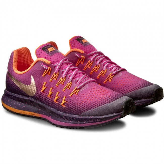 3aa8c312f9c1 ... coupon code for shoes nike zm pegasus 33 shield gs 859624 600 fire pink  mtlc red