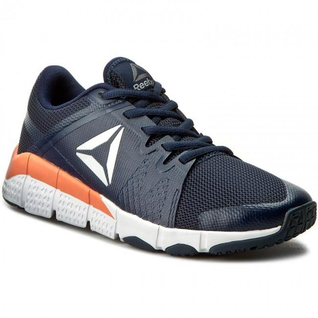 Shoes Reebok - Trainflex BD4921 Navy White Pink - Fitness - Sports ... a210362a3a308