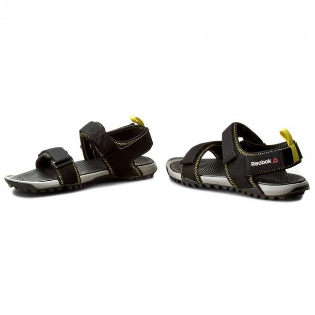 Sandals Reebok - Trail Serpent IV BD5555 Black Tin Grey Yellow ... 32c07cb1fbb