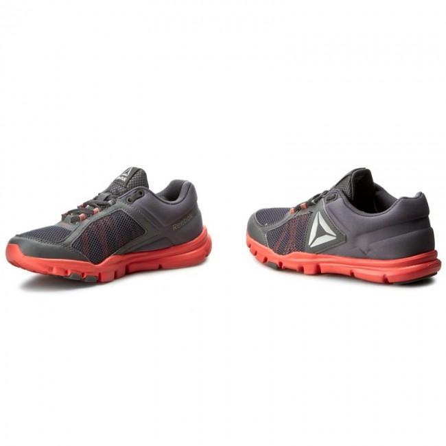 Shoes Reebok - Yourflex Trainette 9.0 Mt BD4823 Grey Pink White ... 775ab40c8