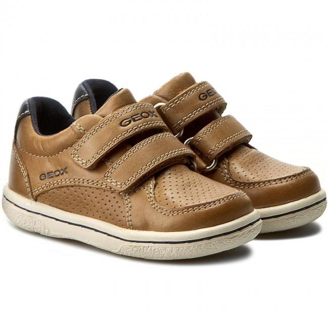 Shoes GEOX B Flick B. B B7237B 000CL C5GF4 CaramelNavy