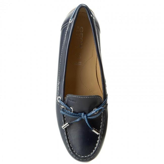 5951dc6f23 Moccasins GEOX - D Yuki A D6455A 00085 C4005 Navy Blue - Moccasins - Low  shoes - Women's shoes - www.efootwear.eu