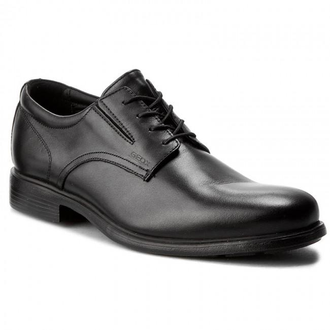0f35d2f9d4 Shoes GEOX - U Dublin A U34R2A 00043 C9999 Black - Formal shoes ...