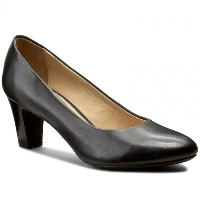 664c99ae02c0 Shoes GEOX - D Mariele Mid B D32T7B 00043 C9999 Black - Heels - Low ...