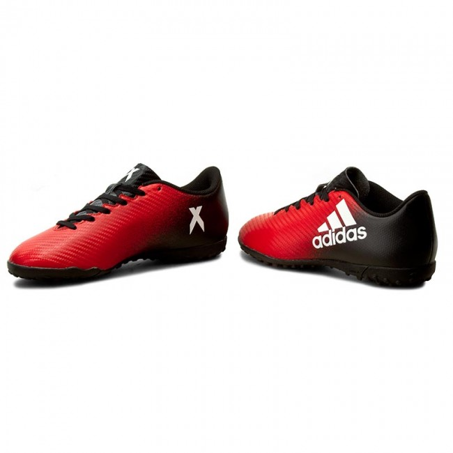 Chaussures adidas X Tf BB5683 Rouge Ftwwht CNoir Football