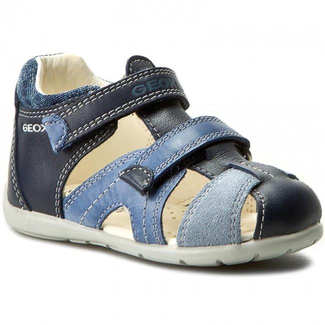 Sandals GEOX - B Kaytan B. C B7250C 085CL C0693 Morski J.Niebieski ... 0486370974e8
