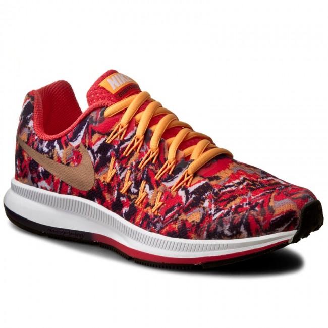 Shoes NIKE - Zoom Pegasus 33 Print (GS) 854170 800 Ember Glow/Mtlc