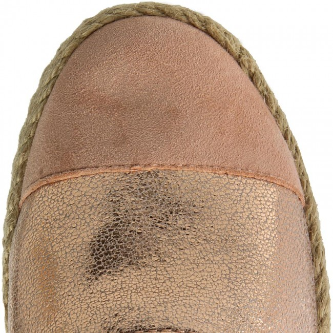 d1b06f97a430 Espadrilles GEOX - D Modesty C D6229C 0SK21 CH8D8 Rose Gold Peach -  Espadrilles - Low shoes - Women s shoes - www.efootwear.eu