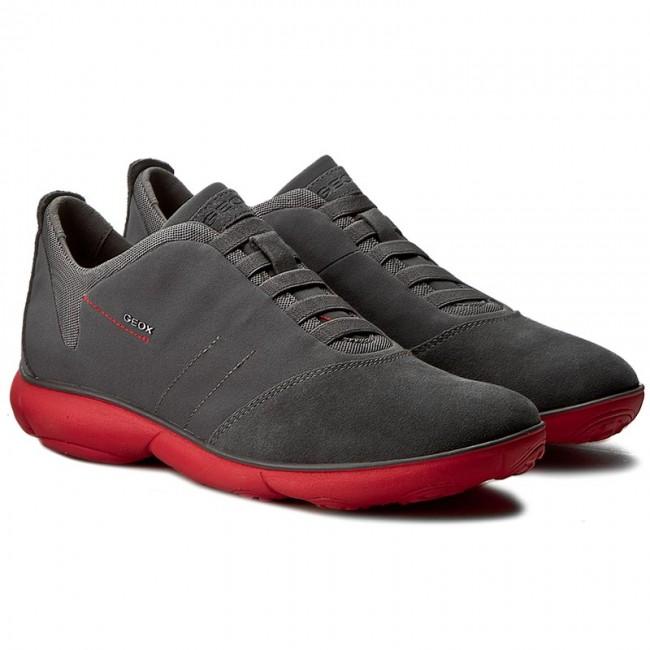 venta de tienda outlet 1c57b ad2b2 Shoes GEOX - U Nebula B U52D7B 01122 C9050 Charcoal/Red
