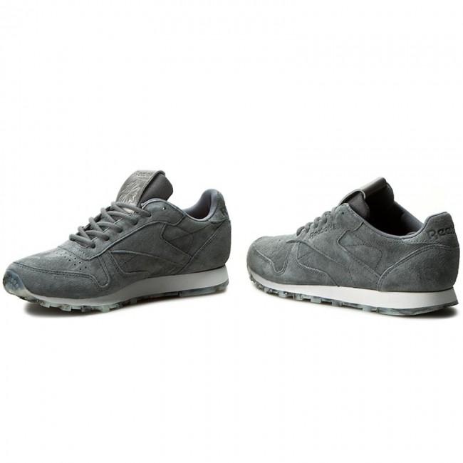 d6f2ac1949b2bc Shoes Reebok - Cl Lthr Shmr BD1521 Alloy White Pewter - Sneakers ...