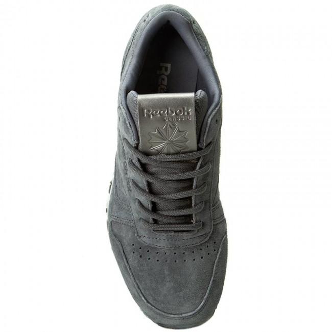 3e0aea3d8dbf71 Shoes Reebok - Cl Lthr Shmr BD1521 Alloy White Pewter - Sneakers - Low shoes  - Women s shoes - www.efootwear.eu