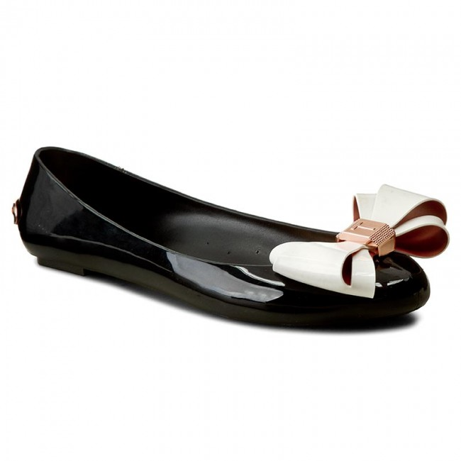 b37417fb29cb Flats TED BAKER - Julivia 9-15927 Black Cream - Ballerina shoes ...