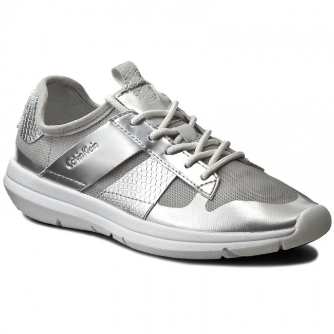 Sneakers CALVIN KLEIN JEANS - Iden R4077 Silver 1b01a99c9a