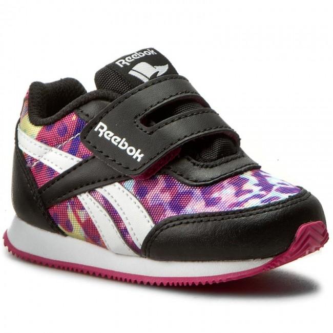 2cbecc43880 Shoes Reebok - Royal Cljog 2Gr Kc BD4029 Black Pink White - Velcro ...