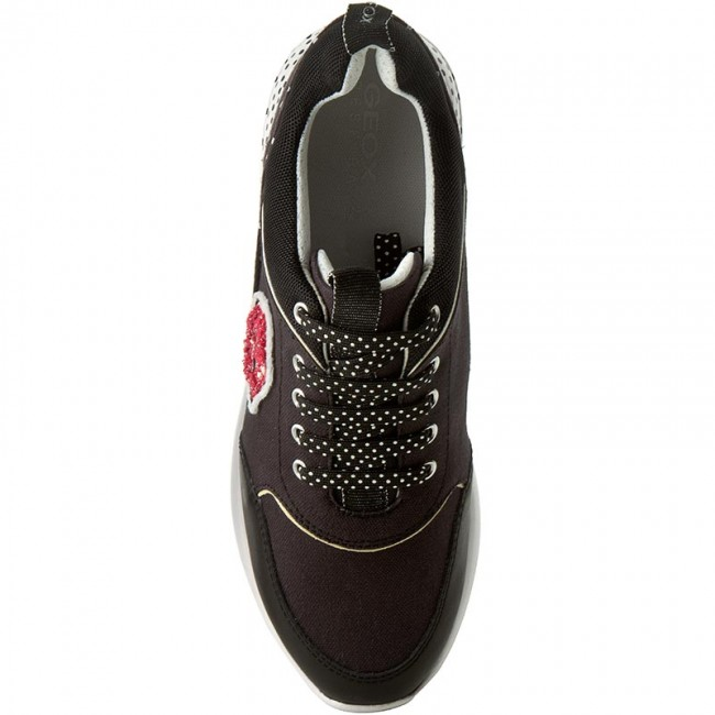 Sneakers GEOX D Ophira C D621CC 0AW85 C9999 Black