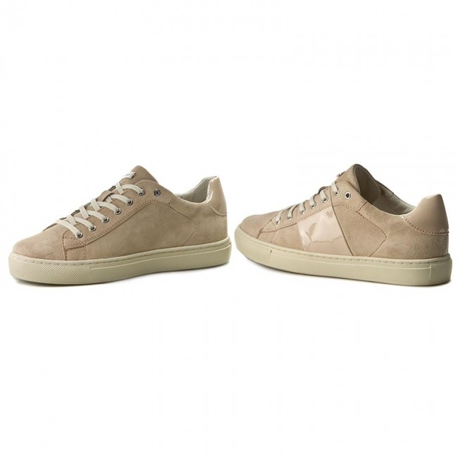 2452a33617 Sneakers GEOX - D Trysure E D724CE 021HH C8182 Naturalny - Sneakers ...