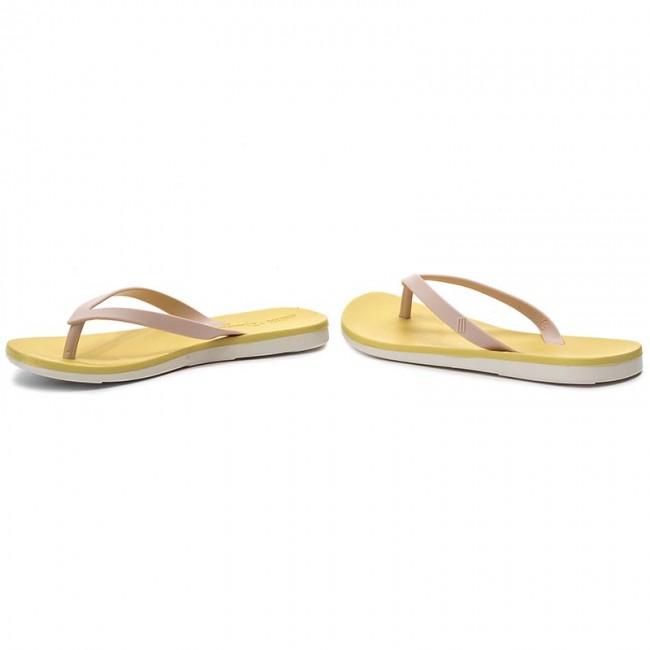 fdd83a0a4 Slides MELISSA - Melissa + Ipanema Ad 32211 White Yellow Pink 52361 ...