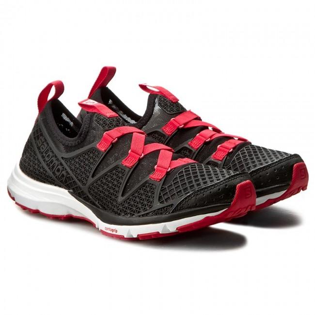 Shoes SALOMON - Crossamphibian W 379678 22 V0 Black/Black/Lotus Pink