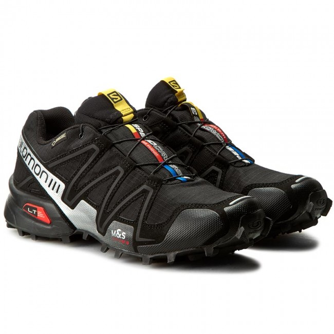 Shoes SALOMON Speedcross 3 GTX 356467 29 G0 BlackBlackSilver Metallic X