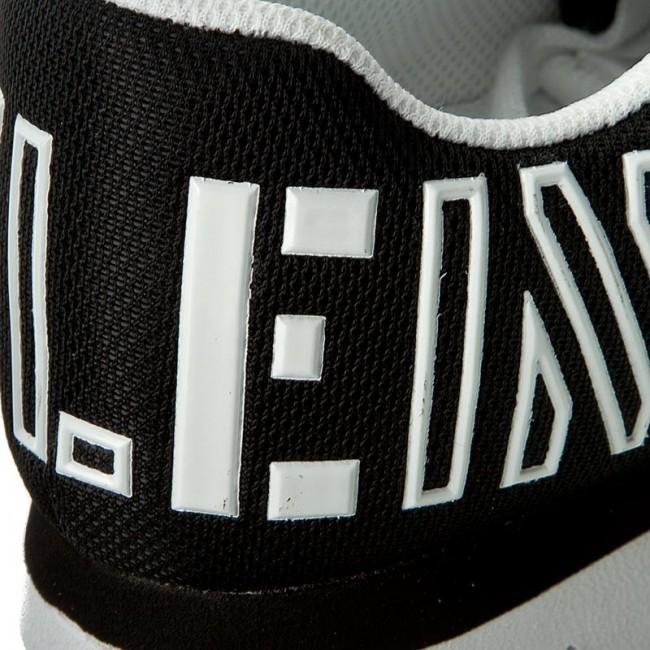 Sneakers CALVIN KLEIN JEANS - Taja R4110 Black White - Sneakers ... 38f073b850