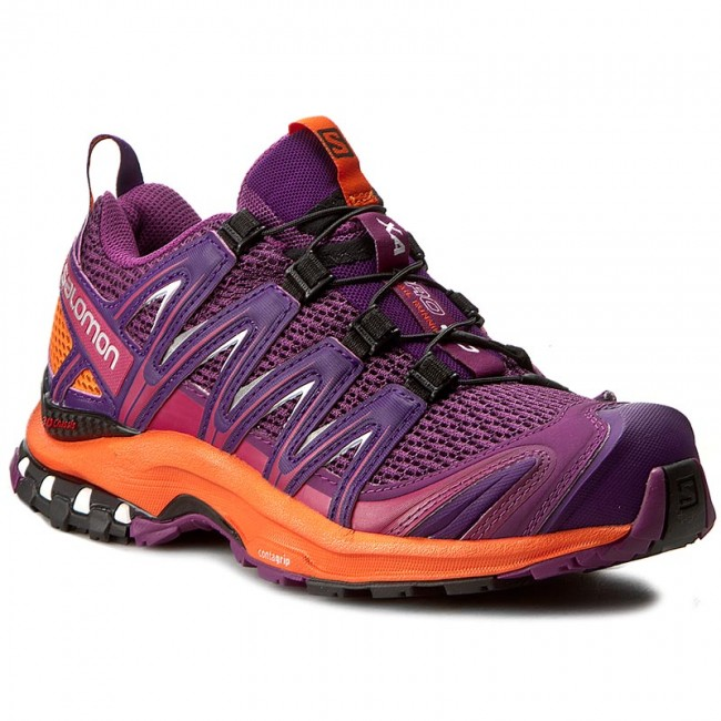Shoes SALOMON  Xa Pro 3D W 393272 20 V0 Grape JuiceFlameAcai  Outdoor  Running shoes  Sports shoes  Womens shoes       0000199222535