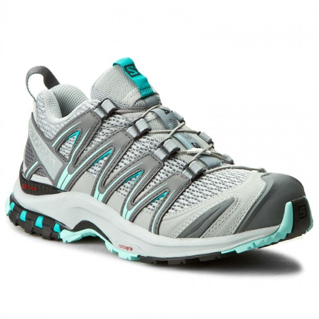 0e50f8469364 Shoes SALOMON - Xa Pro 3D W 393291 20 V0 Quarry Pearl Blue Aruba ...