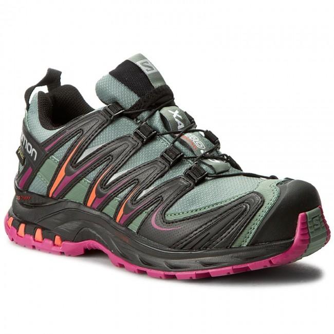 Shoes SALOMON Xa Pro 3D Gtx W 390715 20 V0 Light TtBlackCoral Punch