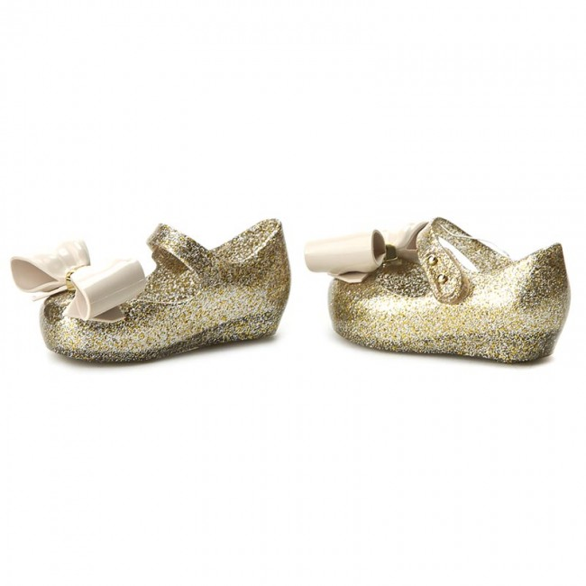 6f12bc0241 Shoes MELISSA - Mini Melissa Ultragirl VIII BB 32215 Mixed Golden Glitter  03771